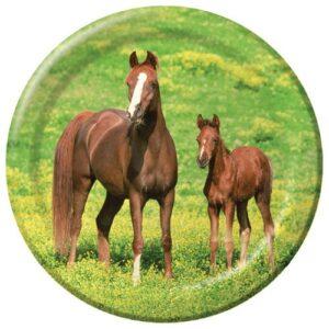 Piatto Cavalli ( Wild Horses ) 20CM