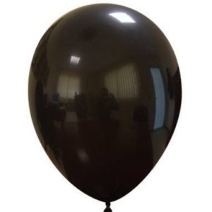 "Palloncini in Lattice 10"" Nero"