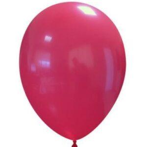"""Palloncini in Lattice 10"""" Rosso"""