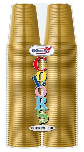 Bicchieri 200 cc Oro