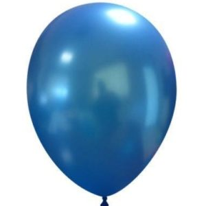 "Palloncini in Lattice Metallizzati 11"" Blu"