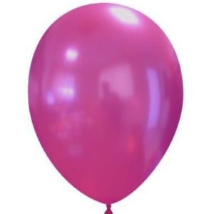 "Palloncini in Lattice Metallizzati 11"" Fucsia"