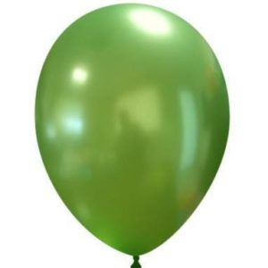 "Palloncini in Lattice Metallizzati 11"" Verde"
