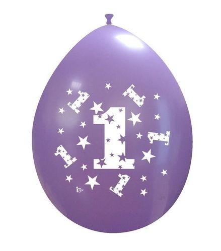 Palloni Primo Compleanno Assortiti