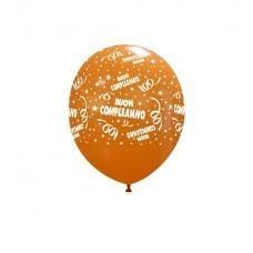 """Palloni ad elio 5 """" Buon Compleanno Assortiti"""