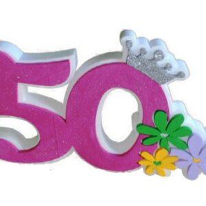 Numero 50 Polistirolo