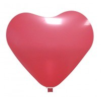 Palloni Cuore Grande Rosso