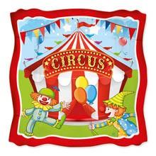 Piatto 23 cm Circus Time