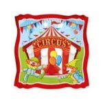 Piatto 18 cm Circus Party