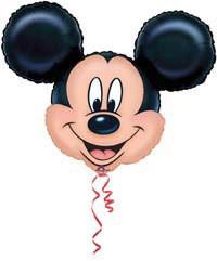 Minishape Air-Filled Mickey