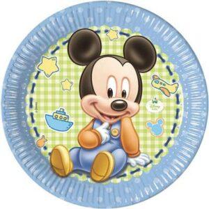 Piatto 23 cm Mickey Baby