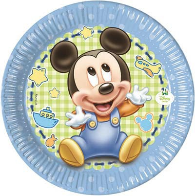 Piatto 20 cm Mickey Baby