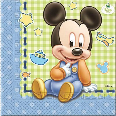 Tovagliolo Mickey Baby
