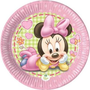 Piatto 20 cm Minnie Baby