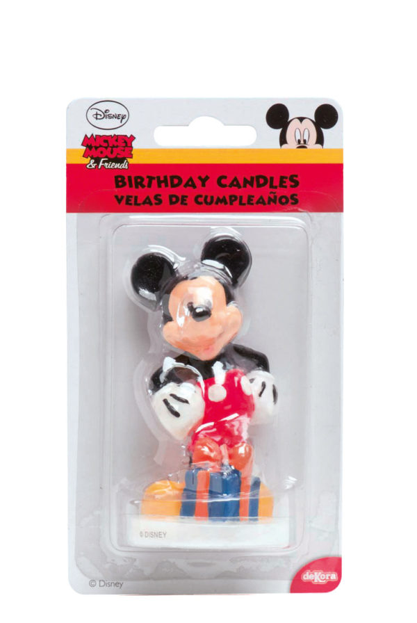 candeline mickey mouse