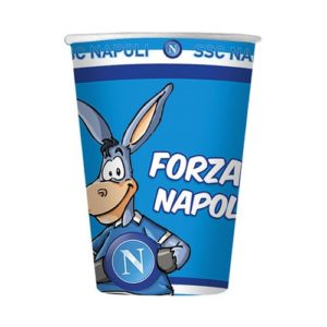 Bicchiere 200 ml SSC Napoli
