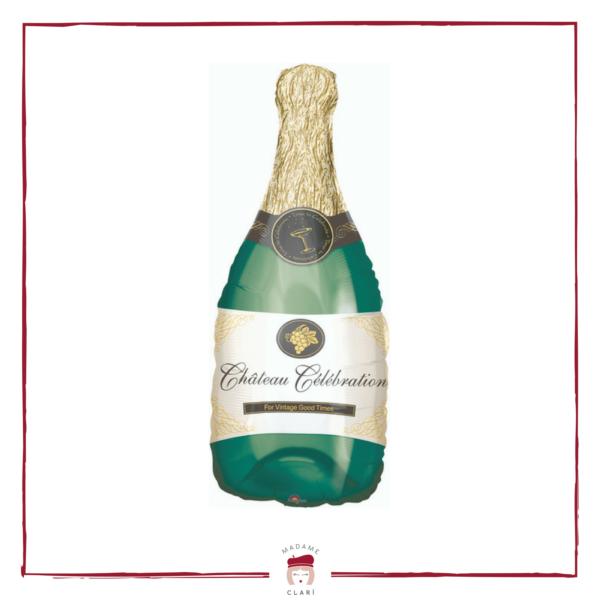 palloncino bottiglia di champagne