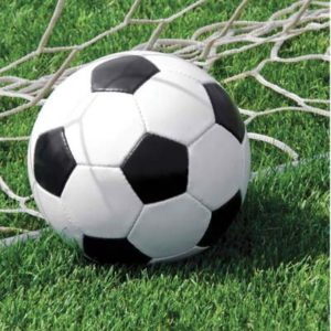 Tovagliolo Calcio Tovaglioli Festa a tema Calcio Confezione da 20 pezzi Dimensione: 33 x 33 cm