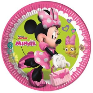 Piatto23 cm Minnie Happy Helpers