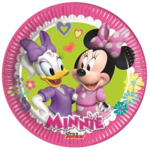 Piatto 20 cm Minnie Happy Helpers