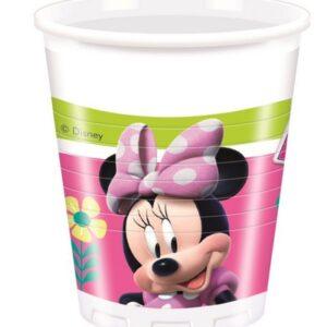 Bicchiere Minnie Happy Helpers