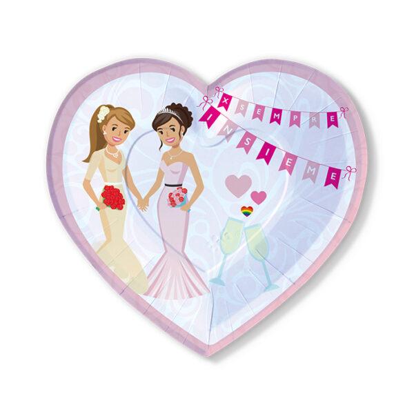 decorazioni nozze arcobaleno