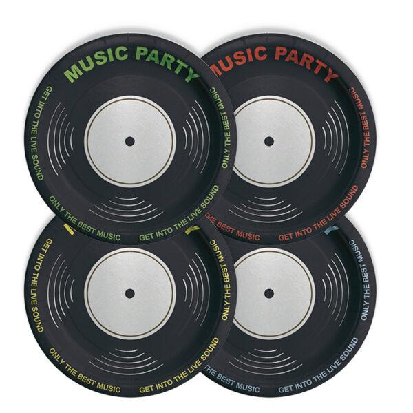 piatti festa music party