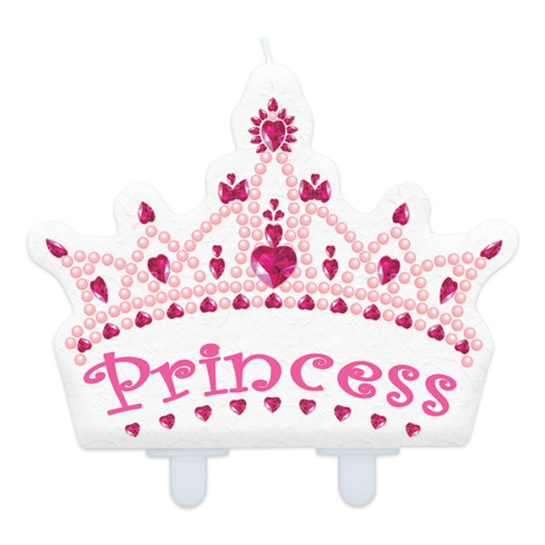 candelina festa a tema principesse