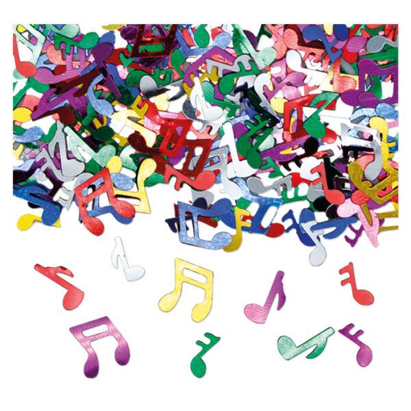 decorazioni tavola note musicali