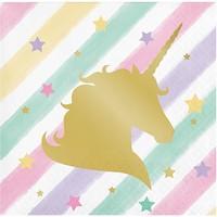 tovaglioli festa a tema unicorni