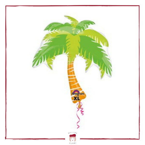 palloncino palma – festa a tema tropical