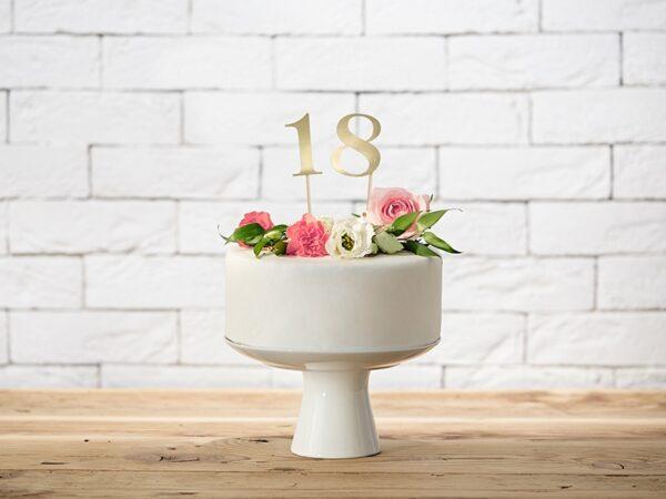 set numero da tavola cake topper