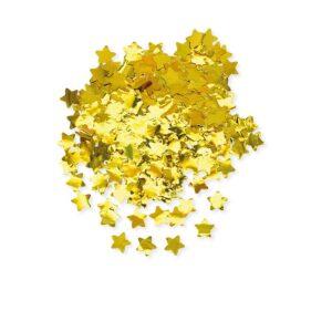 coriandoli stelle oro