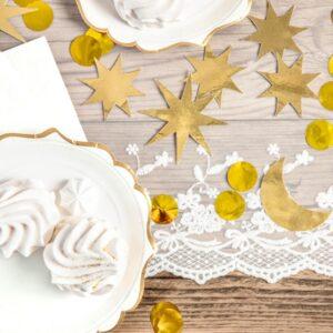 Linea Tavolo Apparecchiato per Natale White Christmas