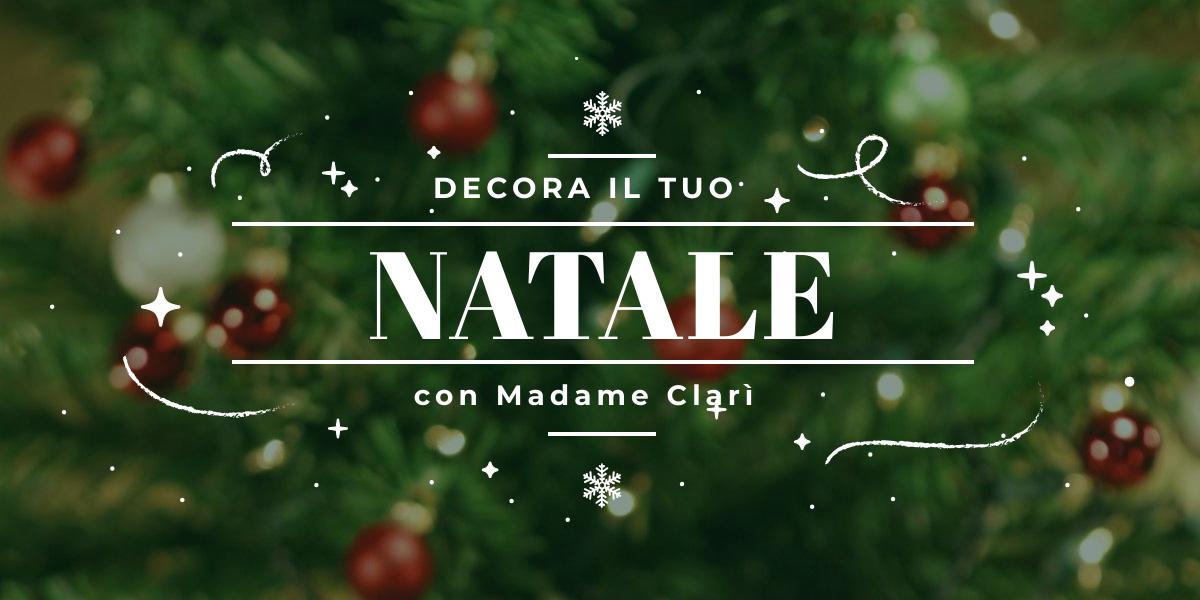Decorazioni Natalizie Tavola 2019.Idee E Decorazioni Per La Tavola Di Natale Madame Clari