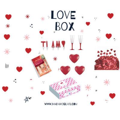 Love Box La LoveBox La soluzione ideale per trascorrere una giornata perfetta per voi due Consegna in 24h Pagamenti sicuri su pay pal o alla consegna
