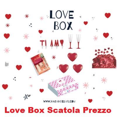 Love Box Scatola Prezzo