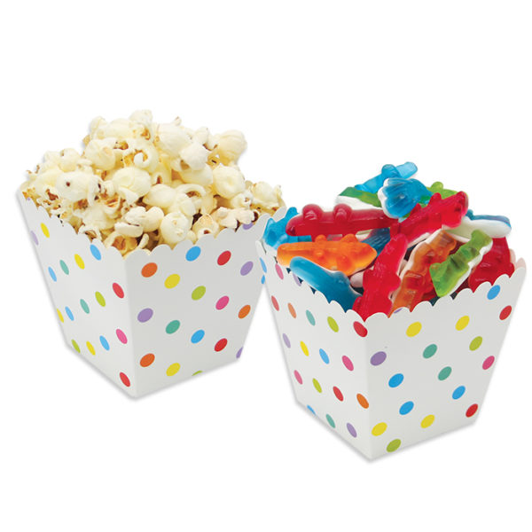 Box per marshamallow e pop corn