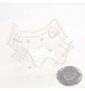 contenitori per confetti in vetro