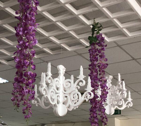 candelabro in polistirolo decorazioni in polistirolo
