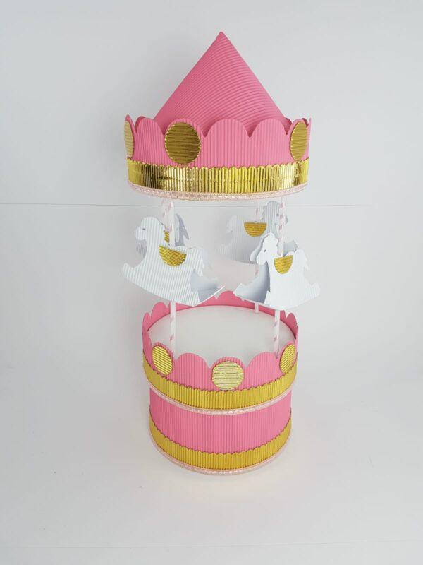 giostra-in-cartoncino-rosa