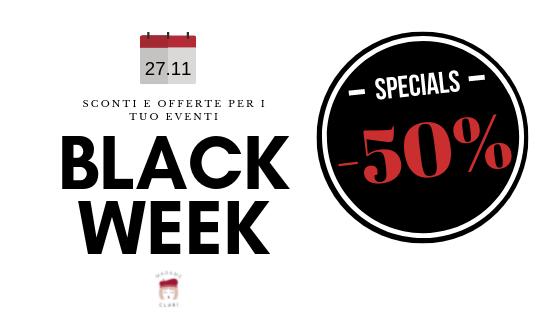 Black Friday Articoli Per Feste | Madame Clari