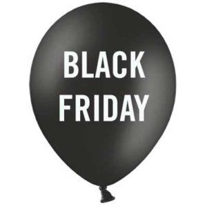 Palloncini Allestimento Vetrina Black Friday