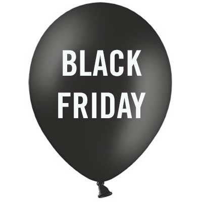 Palloncini in Lattice per Black Friday