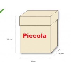 Box Surprise Palloncini Scatola sorpresa in cartoncino avorio con coperchio Consegna in 24 h | Paga con Pay Pal o alla Consegna Contrassegno