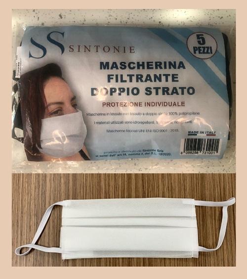 Mascherine Tessuto Non Tessuto