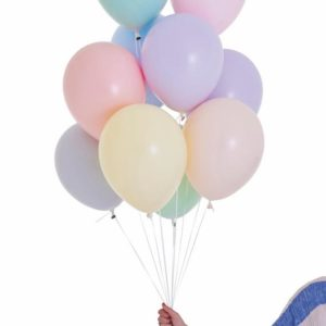 palloncini colori pastello