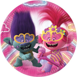 piatti festa trolls
