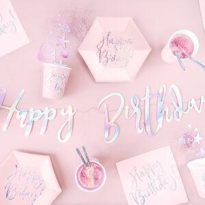 Happy Birthday Rosa Iridescente