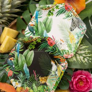 Festa a tema Tropical Jungle
